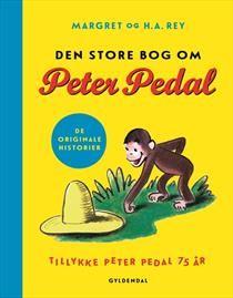 Bog, indbundet Den store bog om Peter Pedal af Margret, H.A. Rey
