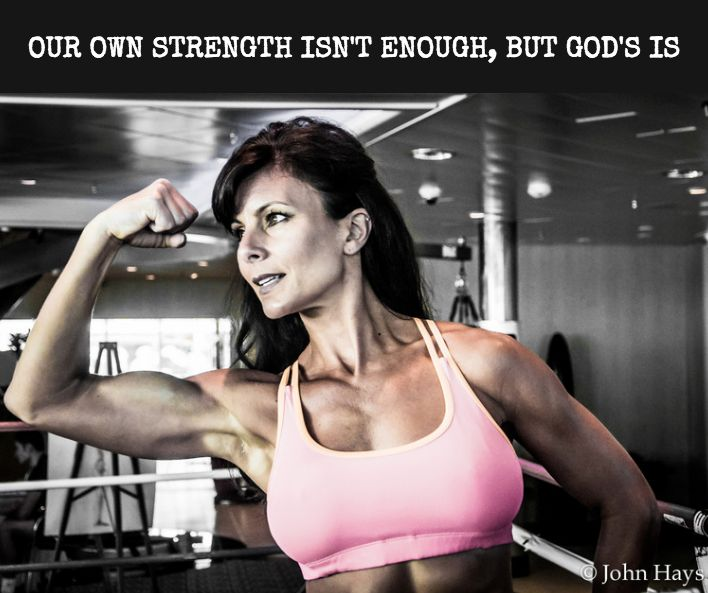 OUR OWN STRENGTH ISN'T ENOUGH BUT GOD'S IS  As difficult as it is to cope when life gets messy we can view struggles as a great opportunity to operate in a new way.  .  Rather than focusing on what's wrong and imperfect we can turn our focus to the Perfect One our heavenly Father.  .  When it's obvious our best efforts and planning aren't good enough we can shift our perspective to the Source of our true strength.  .  We all want to be strong and conpetent. Yet the Bible suggests we should…