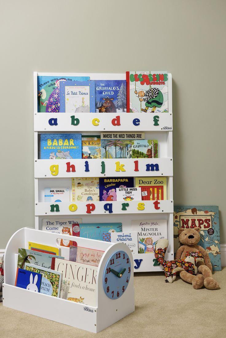 Libreria Portatile e Libreria con lettere dell'alfabeto, così i vostri piccoli avranno sempre i loro libri a portata di mano!