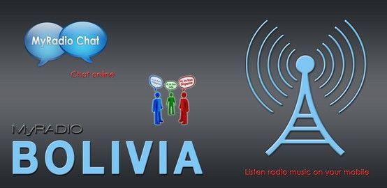 ~ MyRadio BOLIVIA: Disponible en Android Mobile Device ~  La música es la mejor medicina es por eso que ofrecemos la mejor selección de sus estaciones de radio favoritas a través de 24/7! Me encanta esa canción? Great! Puede descargar esa canción como tono de llamada GRATIS! https://play.google.com/store/apps/details?id=net.ramglobal.myradiobolivia