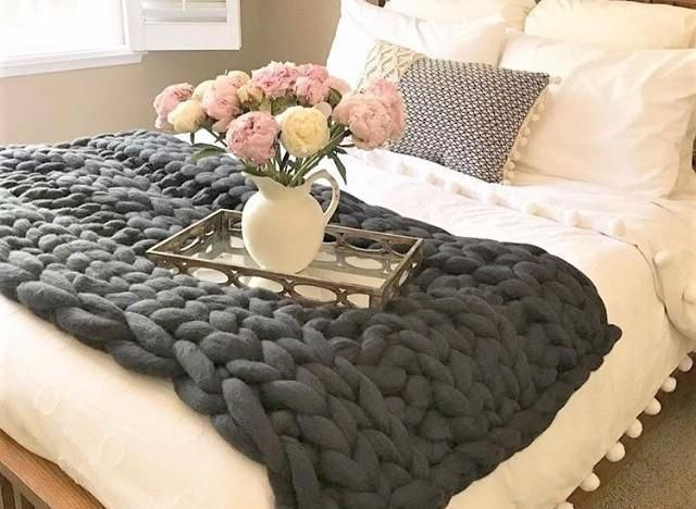 Best 25 Cable Knit Throw Ideas On Pinterest White