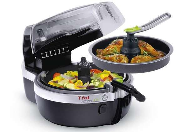 The New T-Fal Actifry Can Cook Meat and Veggies at the Same Time trendhunter.com