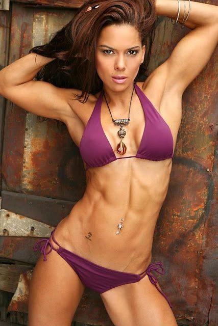 Female fitness figure and bodybuilder competitors vanessa tib