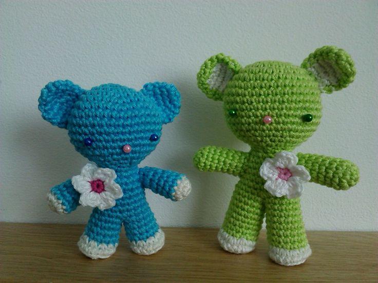 Amigurumi Bears - my Handmade - Libuše-Libby