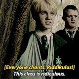 Draco being Draco