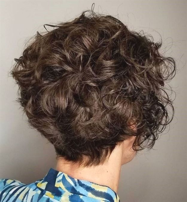 22 Simple Short Hairstyle With Scrunched Curls Not Everyone Has Time In The Morning To Spend 20 Minute Short Wavy Hair Curly Hair Photos Short Curly Haircuts