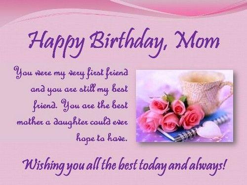 happy birthday mother wishes happy birthday pinterest happy birthday mom happy birthday wishes and happy birthday quotes