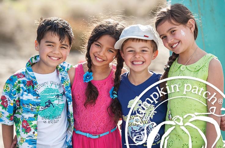 bright colour & summer fun.  Pumpkin Patch Summer 2012 fashion collection.