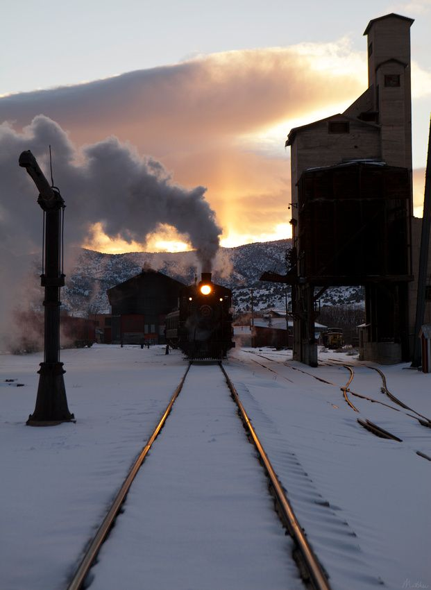 Nevada Northern Rwy - Ely Nevada -- Does this not look like the Hogwarts Express?