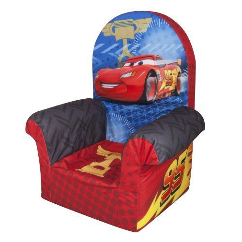 Discover the perfect 'Just My Size' chair for kids. With multiple themes bringing your child's favorite preschool characters to life, they can choose from Cars, Spiderman, Disney Princess, Sesame, Minnie Mouse, Dora and many more. It's a must have in every child's room.... more details available at https://furniture.bestselleroutlets.com/children-furniture/chairs-seats/armchairs/product-review-for-marshmallow-furniture-disneys-cars-2-high-back-chair/