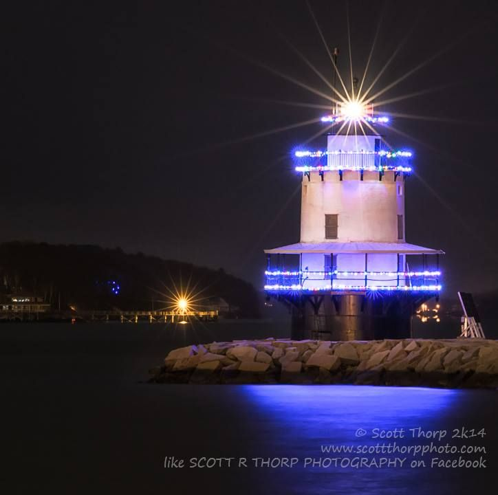 Spring Point Lighthouse Photograph South Portland Maine By Scott Thorp