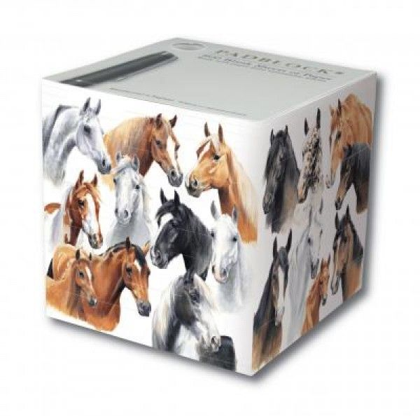 Horses by Caroline 800 sheet Pad Block - Stationery