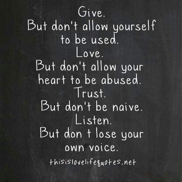 Love. Trust. Listen. Losing Love QuotesNever ...
