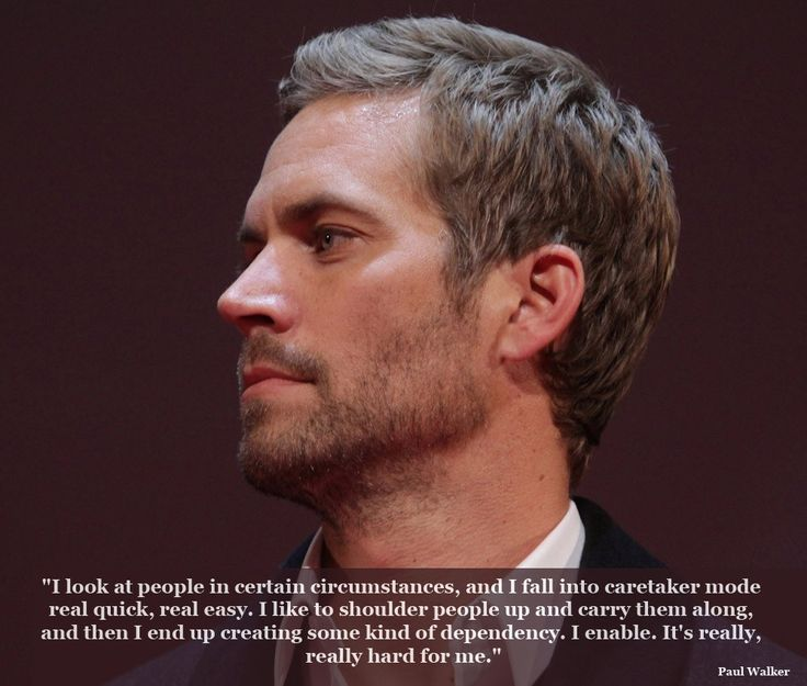 Paul Walker Quotes - look at people in certain circumstances | Paul Walker