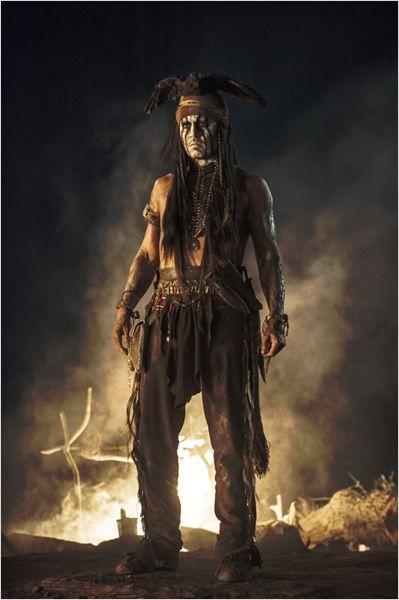 O Cavaleiro Solitário : Foto Johnny Depp
