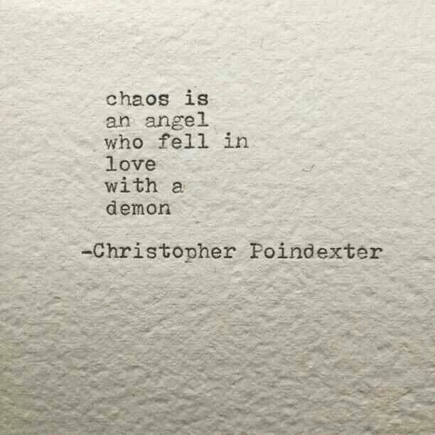 fell in love with a demon...