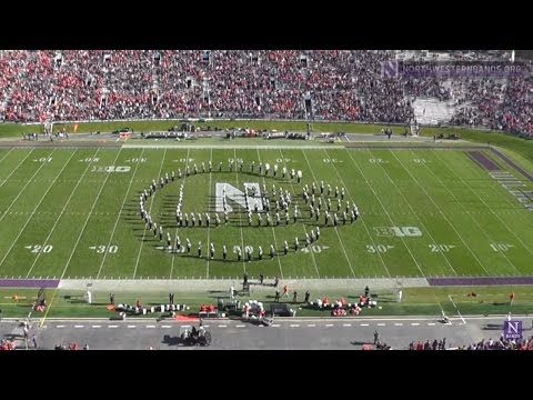 Northwestern Salutes the Cubs - College Marching Band