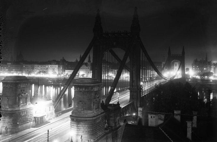 Erzsébet híd, Budapest, 1937.