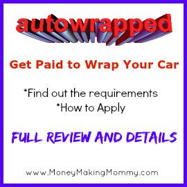 Get Paid to Wrap Your Car? A lot of advertisers will pay cash to wrap your car and drive it around. Just like moving billboards! Find out more about if you and your vehicle might qualify to make money doing this. Full review and details.