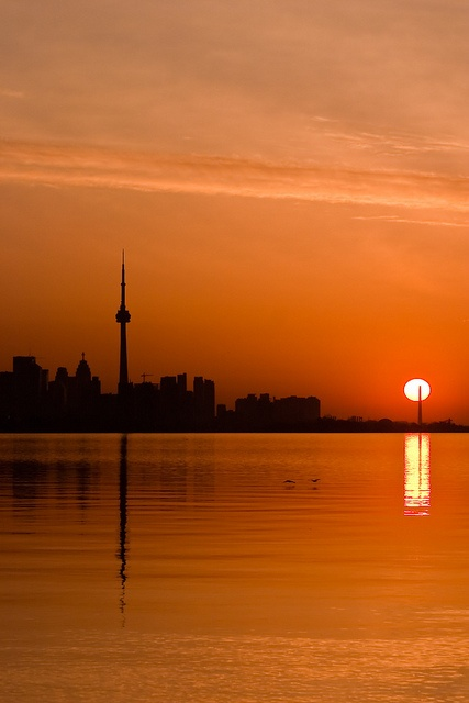 Morning arrives, in style... by DarkElfPhoto, via Flickr
