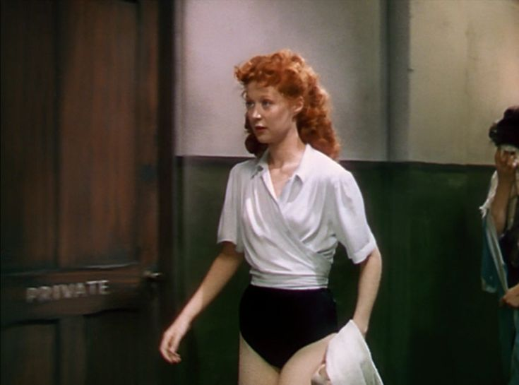 The Red Shoes - I love her rehearsal clothes