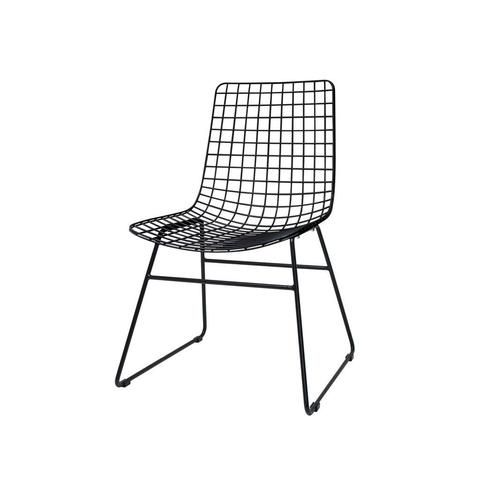 HK Living Dining Room Metal Wire Chair