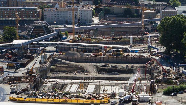 Streit um Kosten für Stuttgart 21: Bahn plant Klage gegen Stadt und Land