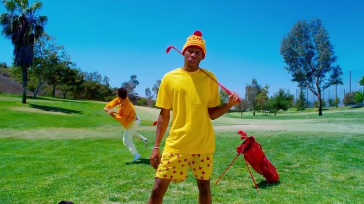 Tyler, The Creator - tamale, Yellow style