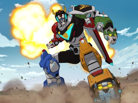 First Look: New VOLTRON Animated Series Looks Similar to The Original — GeekTyrant