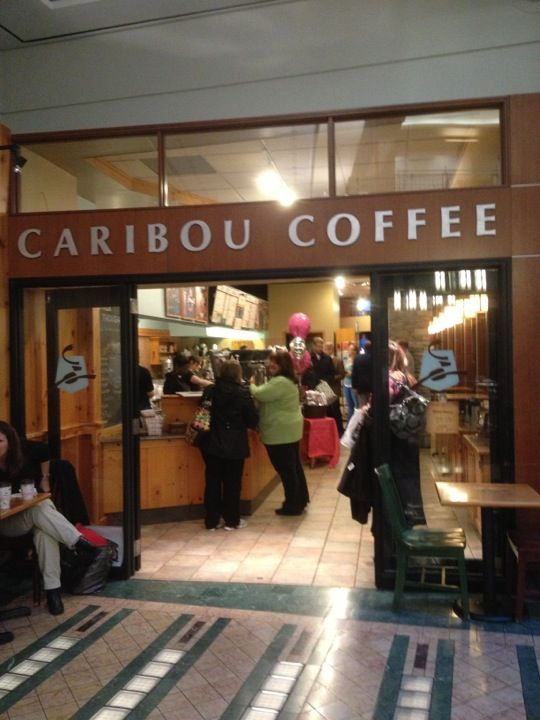 Caribou Coffee in Minneapolis, MN. A fave place for Jordan and Zophie in Deja Who?