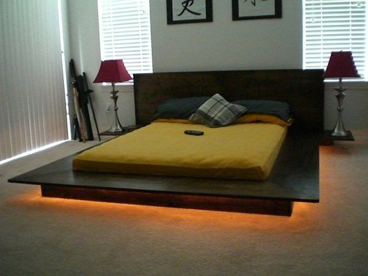Best Japanese Influenced Platform Bed Low Profile And Modern 400 x 300