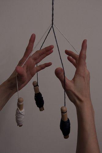 Eithni's whipcording tutorial << #craft #braiding #braid