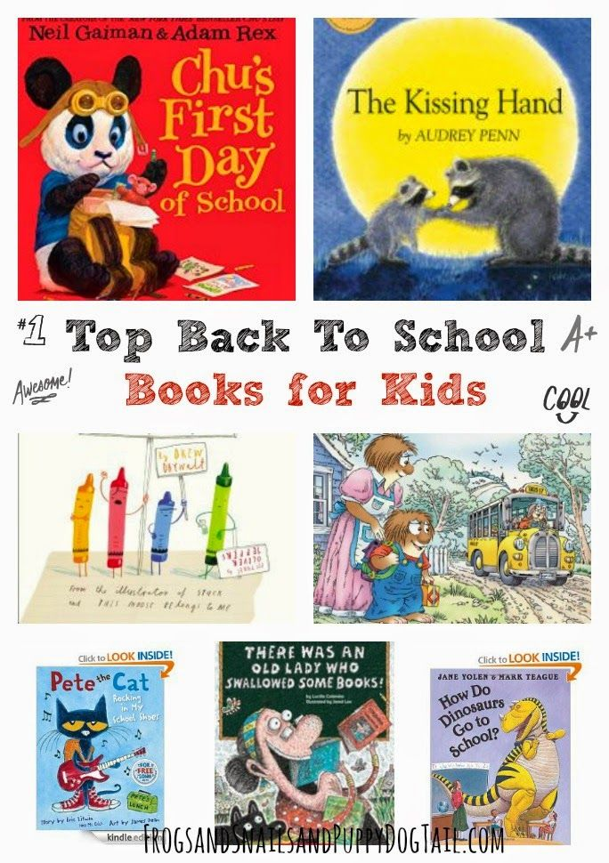 Top Back To School Books for Kids by FSPDT