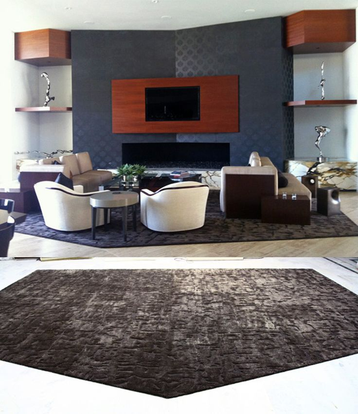 at rug art we have the capability of providing rugs and carpets with an infinite custom options projects that require unusual shapes unusual size or