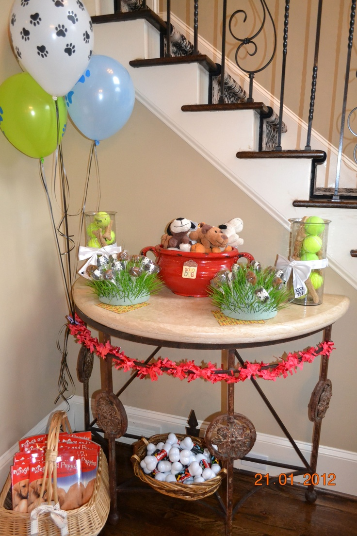 Dog Birthday Decorations 17 Best Images About Puppy Dog Birthday Ideas On Pinterest Puppy