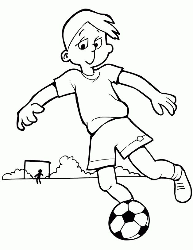 Free Children Playing Football Clipart Download Free Clip Art Free In Children Playing Football Sports Coloring Pages Coloring Pages For Boys Coloring Pages