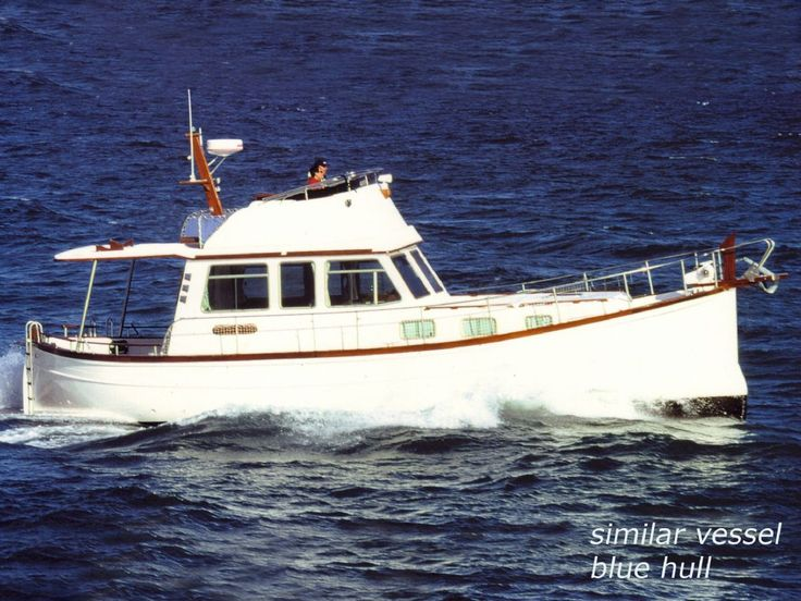 Trawler yachts trawler myabca 45 tr motor yacht for for Vintage motor yachts for sale