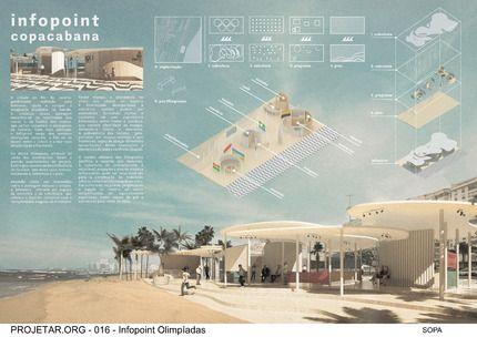 Concurso de Arquitetura | Infopoint Olimpíadas