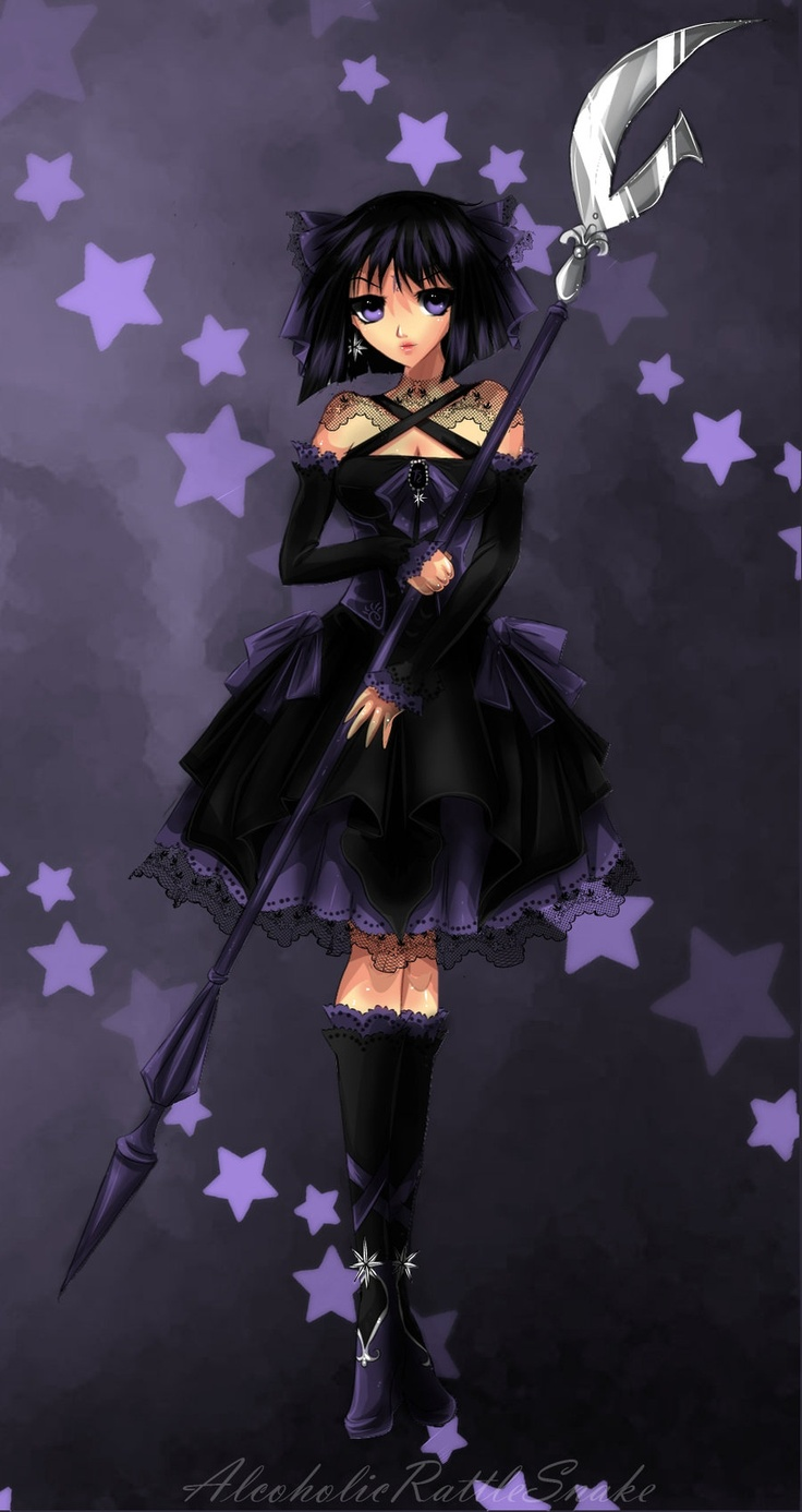 44 best images about sailor saturn hotaru tomoe on - Dark anime girl pics ...