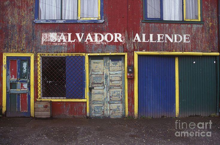Former Communist Party Headquarters, Chiloe, Chile Photograph  - Former Communist Party Headquarters, Chiloe, Chile Fine Art Print