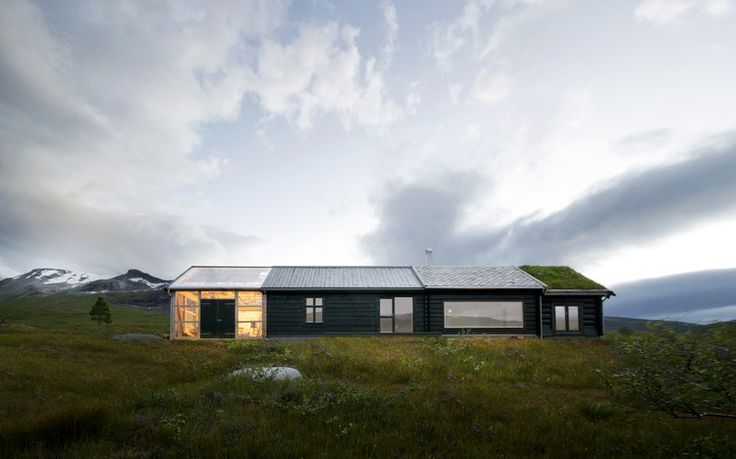 Cabin at Troll's Peak, in Sunndal. Architects: Rever & Drage Architects.
