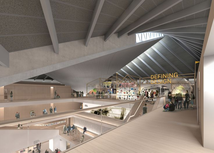 Design Museum - London - new location! (old Commonweath Institute)