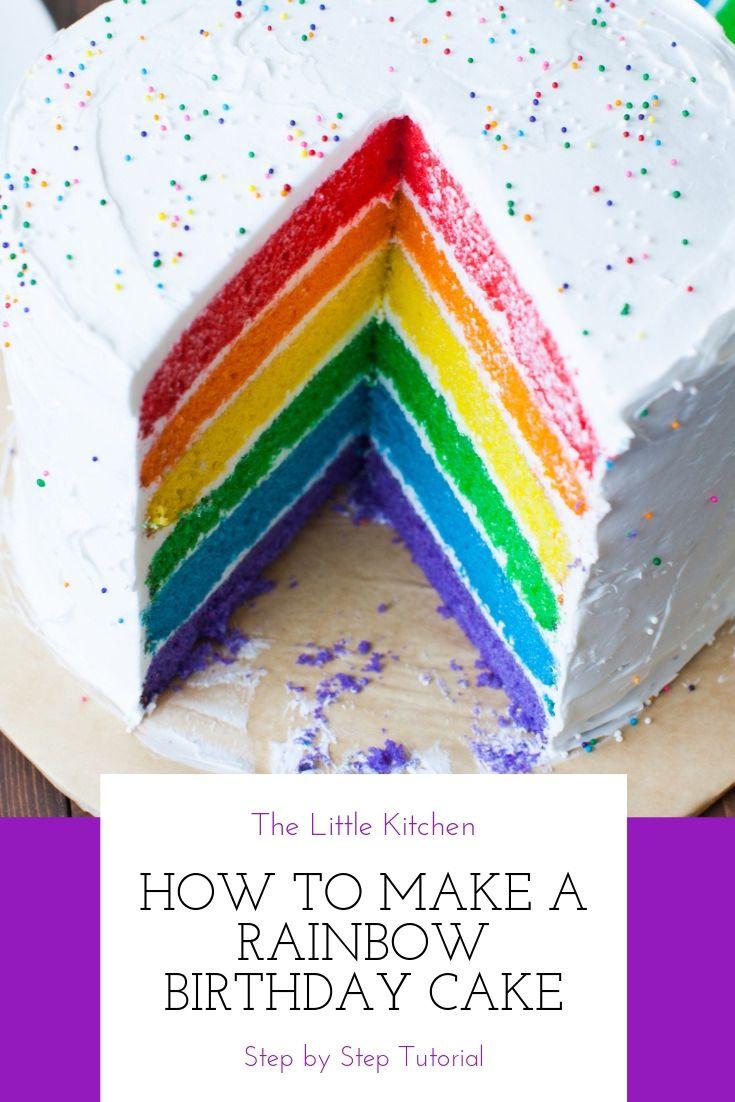 walmart rainbow cake mix