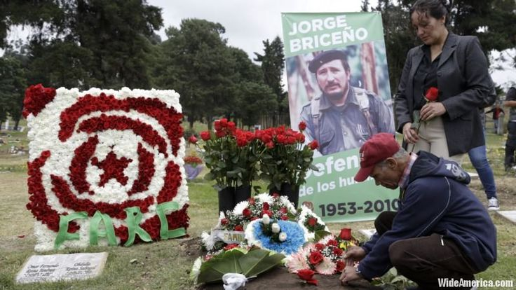 The United Nations has finished deactivating thousands of weapons and munitions that once belonged to demobilized leftist rebels in Colombia. In a ceremony Friday attended by President Juan Manuel Santos and leaders from the Revolutionary Armed Forces of Colombia, the U.N.  #Americas