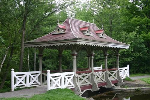 Pagoda Bridge in Jackson Park
