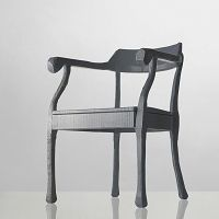 RAW Lounge chair szary