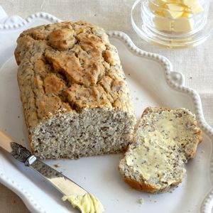 Sugar-free banana loaf