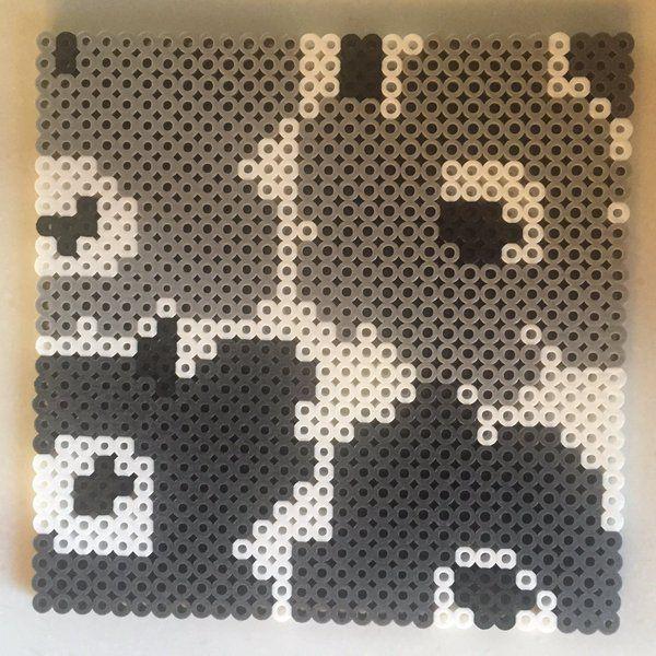 Marimekko design perler beads