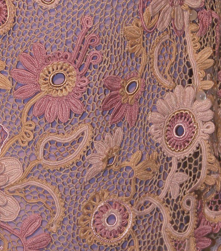 jewelry for men                              Irish Crochet  Motifs  Freeform ideas