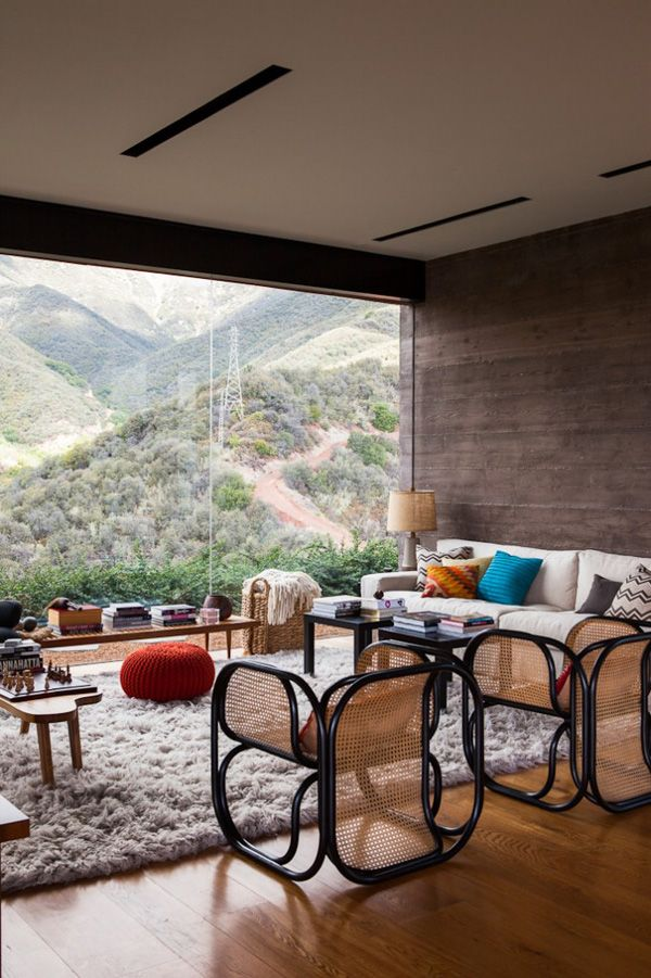 Toro Canyon House featuring Santa Barbara coastline views by studio Bestor Architecture